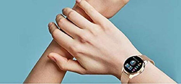 montre connectée femme