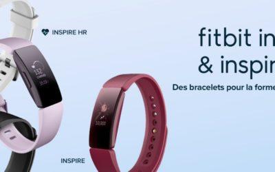 Différences entre Fitbit inspire et Fitbit inspire HR