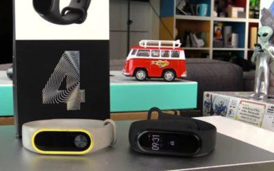 Différences entre le Xiaomi Mi Band 4 et le Xiaomi Mi Band 3